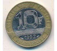 10 франков (1988–2000 г) Франция
