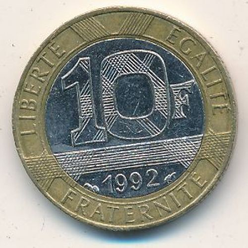 10 франков (1988–2000 г.) Франция