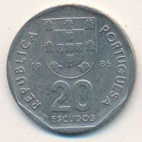 20 эскудо 1986 год. Португалия