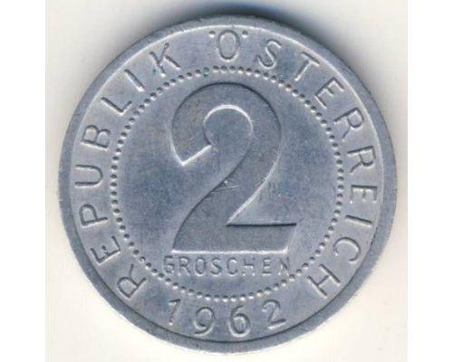 2 гроша 1962 год Австрия