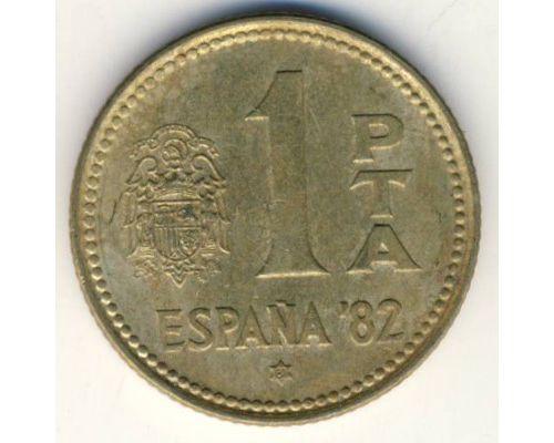 1 песета 1980 год. Испания