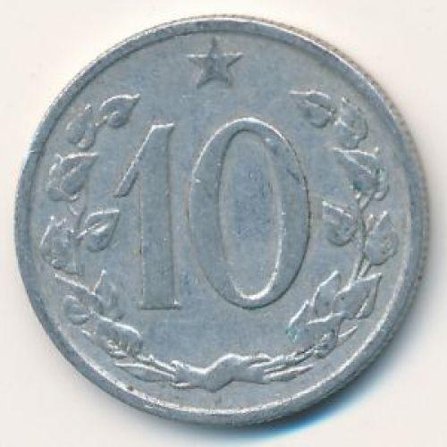 10 гелеров (1961–1971 г.) Чехословакия