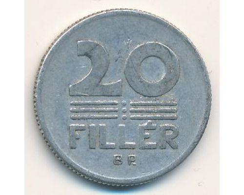 20 филлеров (1967–1989 г.) Венгрия