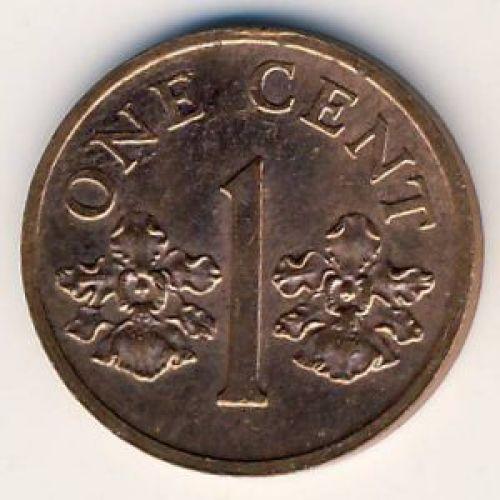 1 цент 1993 год. Сингапур