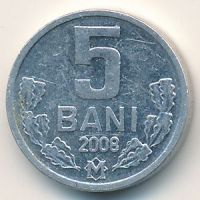 5 бани (1993–2008 г) Молдова