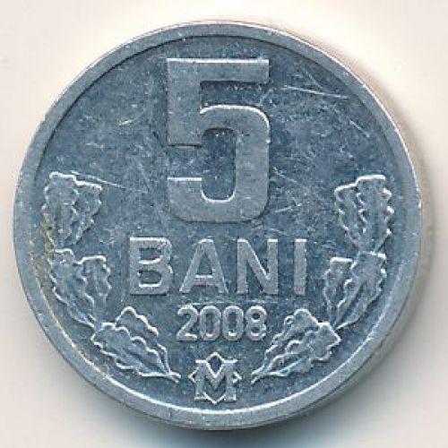 5 бани (1993–2008 г.) Молдова