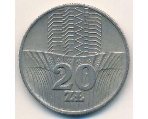 20 злотых 1976 год Польша