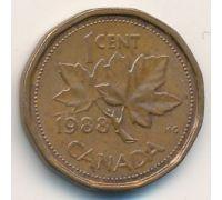1 цент 1988 год. Канада