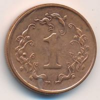1 цент 1989-1999 год. Зимбабве