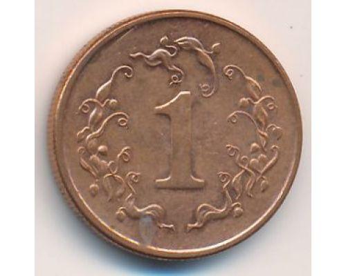1 цент 1989-1999 год Зимбабве