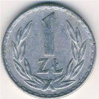 1 злотый (1957–1986 г) Польша