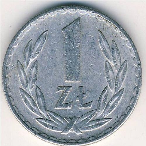 1 злотый (1957–1986 г.) Польша