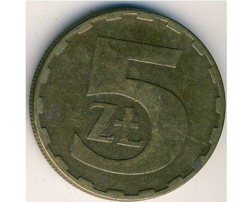 5 злотых (1975–1988 г) Польша