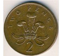 2 пенса (1985–1992 г)  Великобритания
