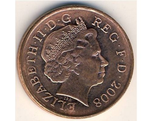 1 пенни (2008-2014 г.) Великобритания