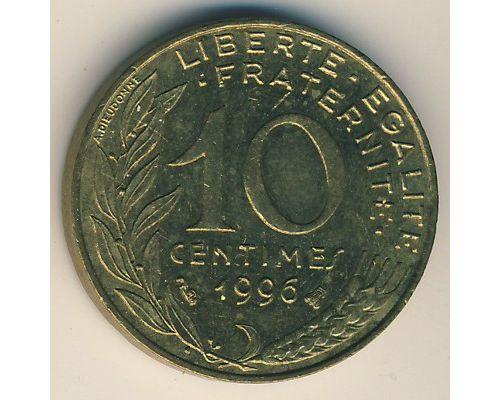 10 сентим (1962–2001 г) Франция