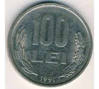 100 лей 1991-2006 год Румыния