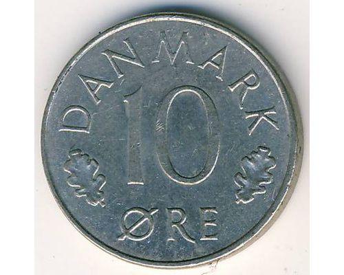 10 эре 1973-1978 года Дания