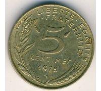5 сентим (1966–2001 г) Франция