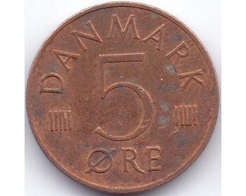 5 эре 1973-1986 года Дания
