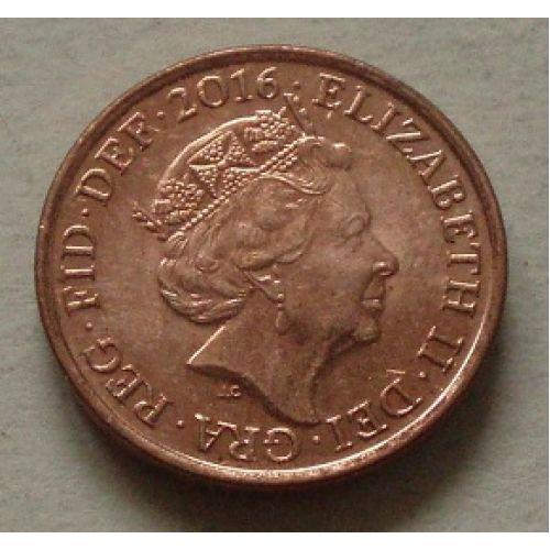 1 пенни (2015-2016 г.) Великобритания