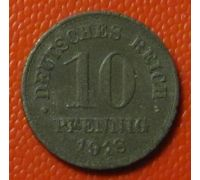 10 пфеннигов 1918 год Германия