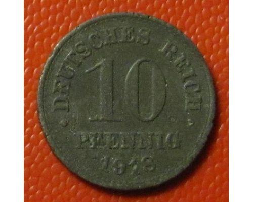 10 пфеннигов 1918 год. Германия