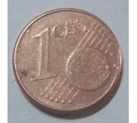 1 евроцент 2002-2013 год Германия