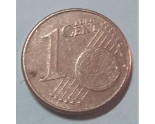 1 евроцент 2002-2013 год Германия.
