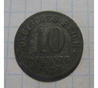 10 пфеннигов 1920 год Германия