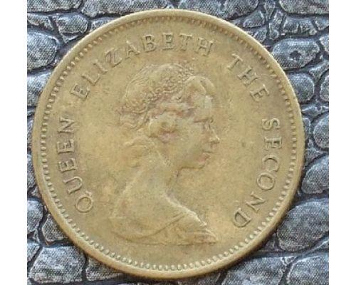 50 центов 1977-1980 год Китай Гонконг