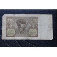 10 злотых 1940 год. Польша