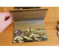 Буклет 2 гривны 2017 год Михаил Петренко (в упаковке) Украина