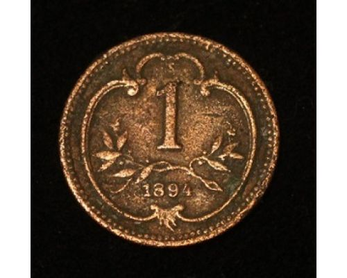 1 геллер 1894 года Австрия (2)