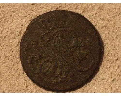 1 грош 1768 год. Польша