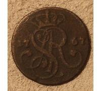 1 грош 1767 год Польша (3)