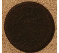 3 гроша 1767 год Польша Трояк Станислав Август