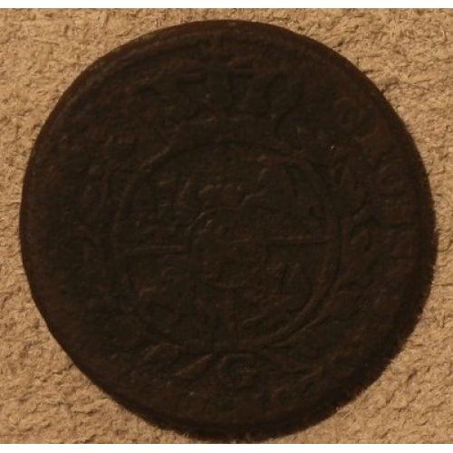 3 гроша 1767 год. Польша. Трояк. Станислав Август
