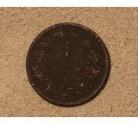 1 крейцер 1858 года A Австрия (2)