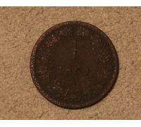 1 крейцер 1859 года A Австрия (2)