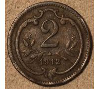 2 геллера 1912 года Австрия (6) Состояние