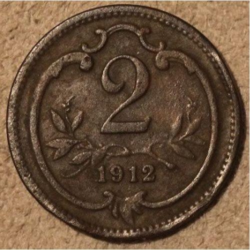 2 геллера 1912 года. Австрия (6) Состояние