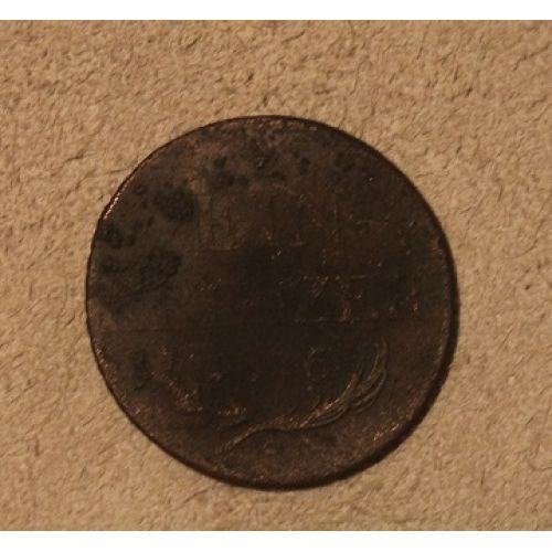 1 крейцер 1816 год. S Австрия
