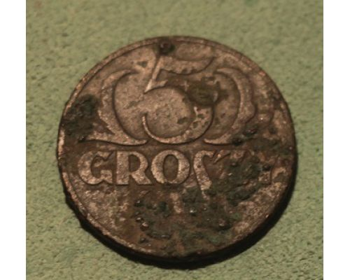 5 грошей 1936 Польша (2)