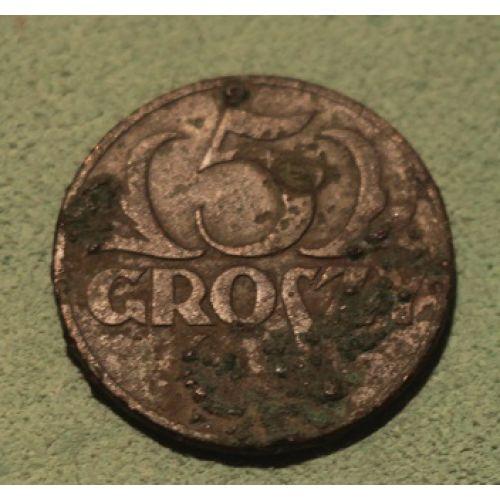 5 грошей 1936. Польша (2)