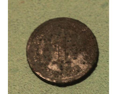 1 пфенниг 1907 год Германия (Германская Империя)