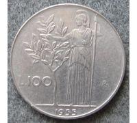 100 лир (1955–1989 г) Италия