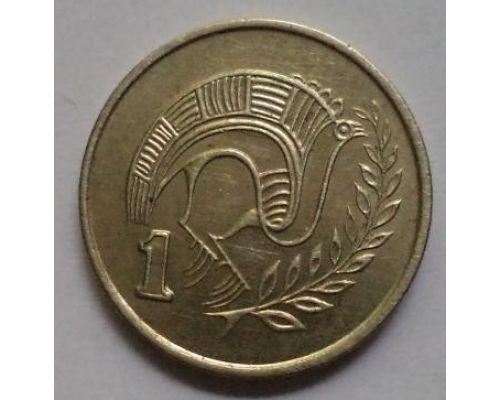 1 цент 1983-1990 год Кипр