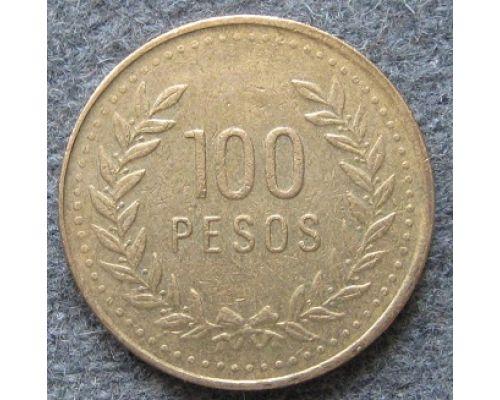 100 песо 1994 год Колумбия