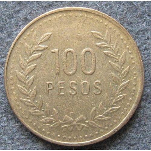 100 песо 1994 год. Колумбия